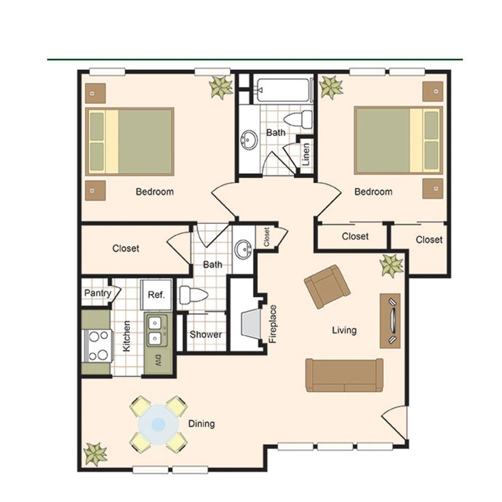 Cornerstone Gardens Apartments Houston Tx: The Bordeaux Post Oak Apartments